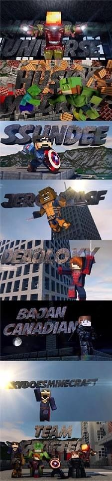 Teamcrafted :3 I love minecraft thats soo cool!!! i bet teamcrafted would love this picture if they go on pintrest