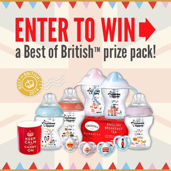 Courtney's Sweets » Best of British Tommee Tippee Prize Pack