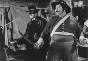 zorro e sargento Garcia