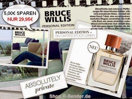 """Wellness und Gesundheit: Zum #Vatertag - Bruce Willis Duft """"Personal Editio..."""