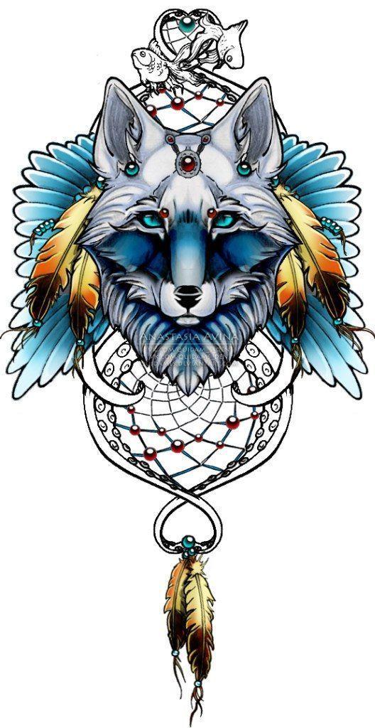 В этом каталоге собраны только лучшие работы в различных стилях. Узнай значение татуировки с волком и подбери себе эскиз!