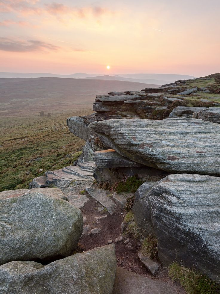 bellasecretgarden: High Neb on Stanage Edge, Peak District, England by matrobinsonphoto on Flickr