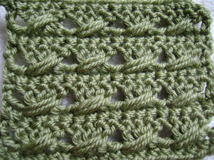 Simple & Sensational™ - Double Crochet with a Twist Pattern