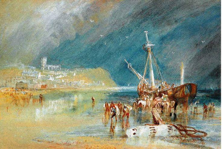 Joseph Mallord William Turner - Aldborough, Suffolk, 1829