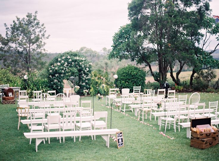 Garden Ceremony Brisbane - Spicers Hidden Vale QLD