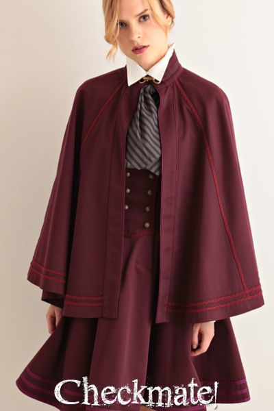 EXCENTRIQUE Collection Archive 2014 | Harry Potter meets Victorian meets 1940s aesthetic