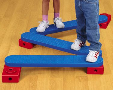 Lakeshore's Beginner's Balance Beams help kids build balance and coordination—step-by-step!