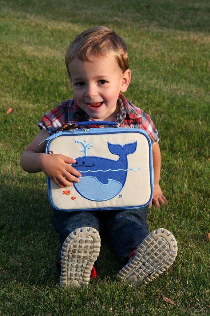 Dit lunchkoffertje met Lucas de walvis zal ervoor zorgen dat de boterhammetjes, koekjes, waterflesjes en stukjes fruit van uw kind lekker fris blijven tot het lunchtijd is. Bestel nu op www.zaino.be!