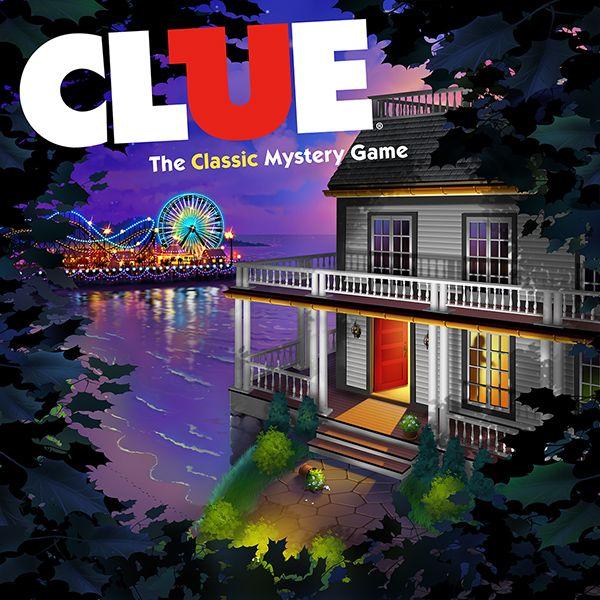 Clue Game © Jim Talbot #illustration