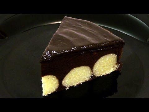 Шоколадный пирог с творожными шариками. Подробный рецепт. - YouTube
