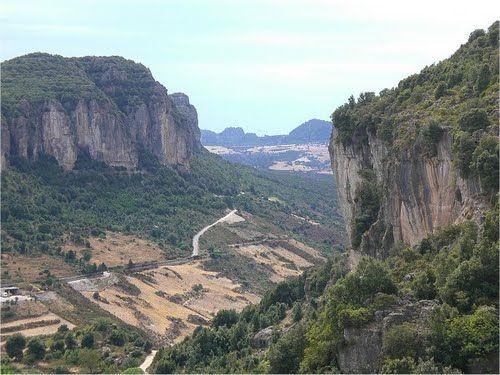 Ulassai i Tacchi di #Ogliastra, #Sardegna