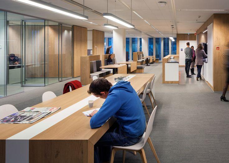 Municipal Government Moves Into OMAs De Rotterdam Office Interior DesignOffice