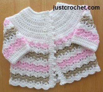 Free baby crochet pattern baby coat usa