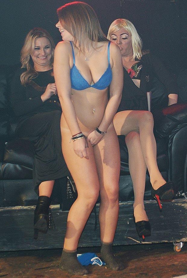 Lucky man. american idol gy stripper she