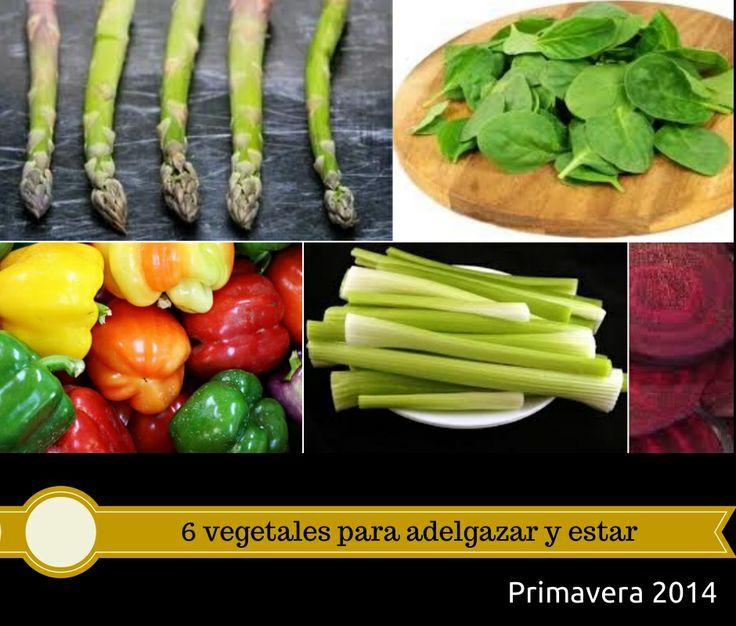 6 vegetales para adelgazar y estar saludable  #health #salud #vegetales #bajardepeso