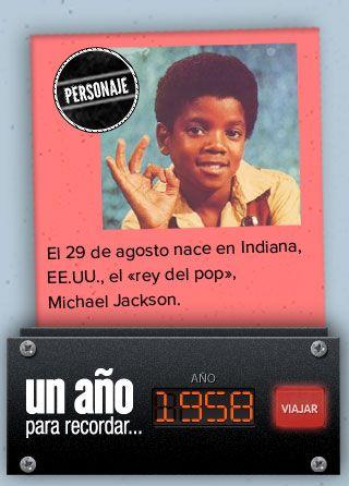 El dato de hoy en @pa_recordar es sobre Michael Jackson:
