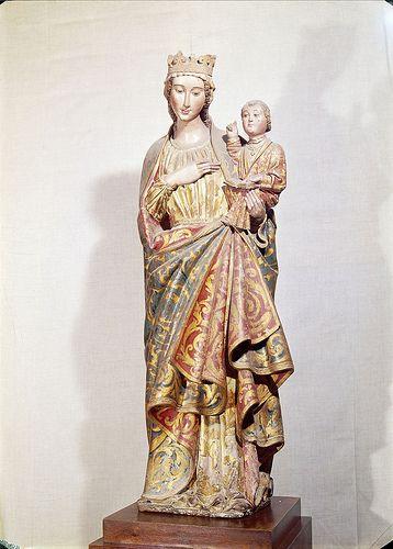 Virgem com o menino, Museu Nacional de Arte Antiga, Lisboa,