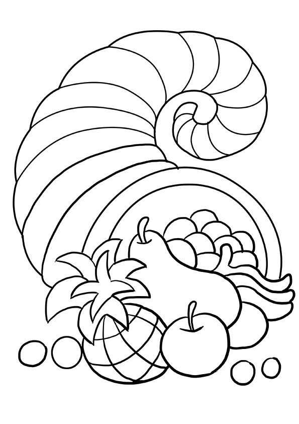 Top 25 Thanksgiving Coloring Pages For Your Toddlers
