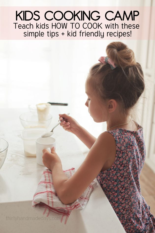 Great reasons to teach your children to cook.