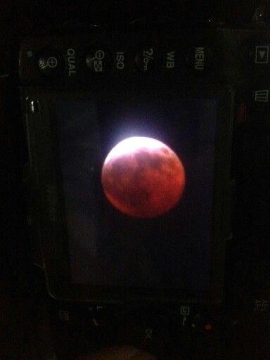 Gerhana Bulan di Kebomas - @RachmanFamie
