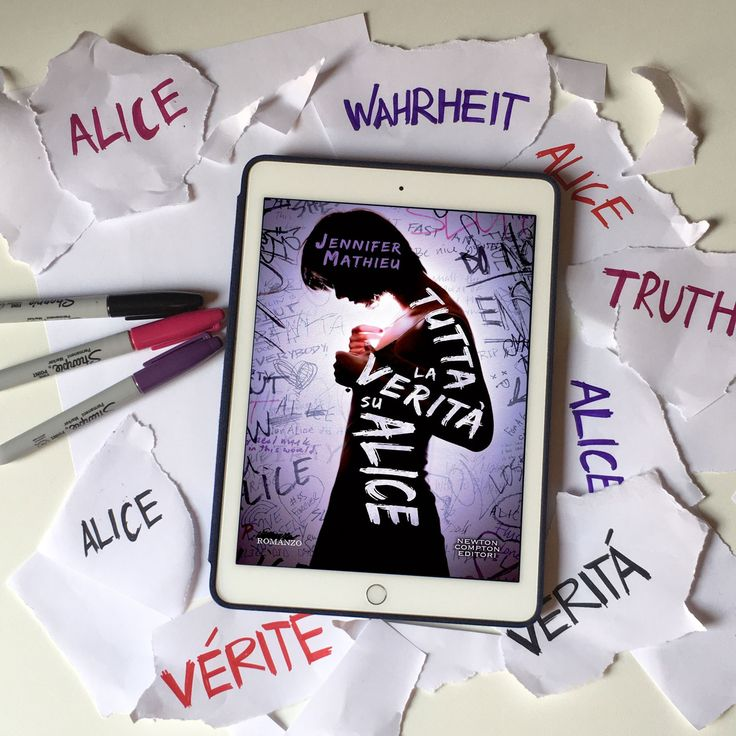 """Words of books: Recensione   """"Tutta la verità su Alice"""" di Jennifer Mathieu"""