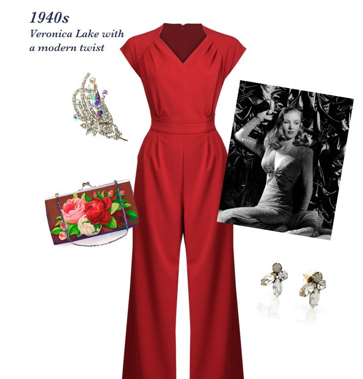 1940s Veronica Lake outfit inspiration