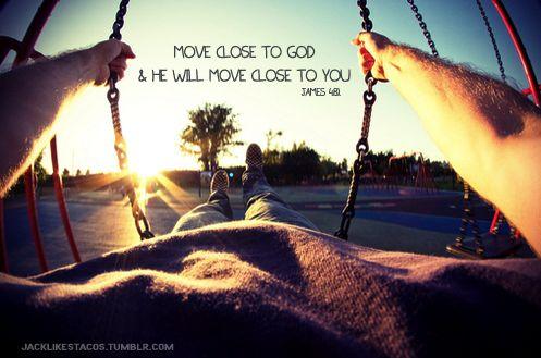 Swinging with Jesus.