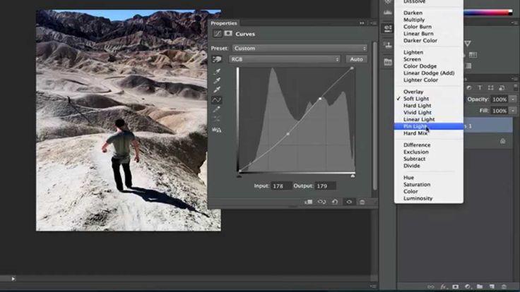 Photoshop Playbook:  Подавление шума How To Use Curves
