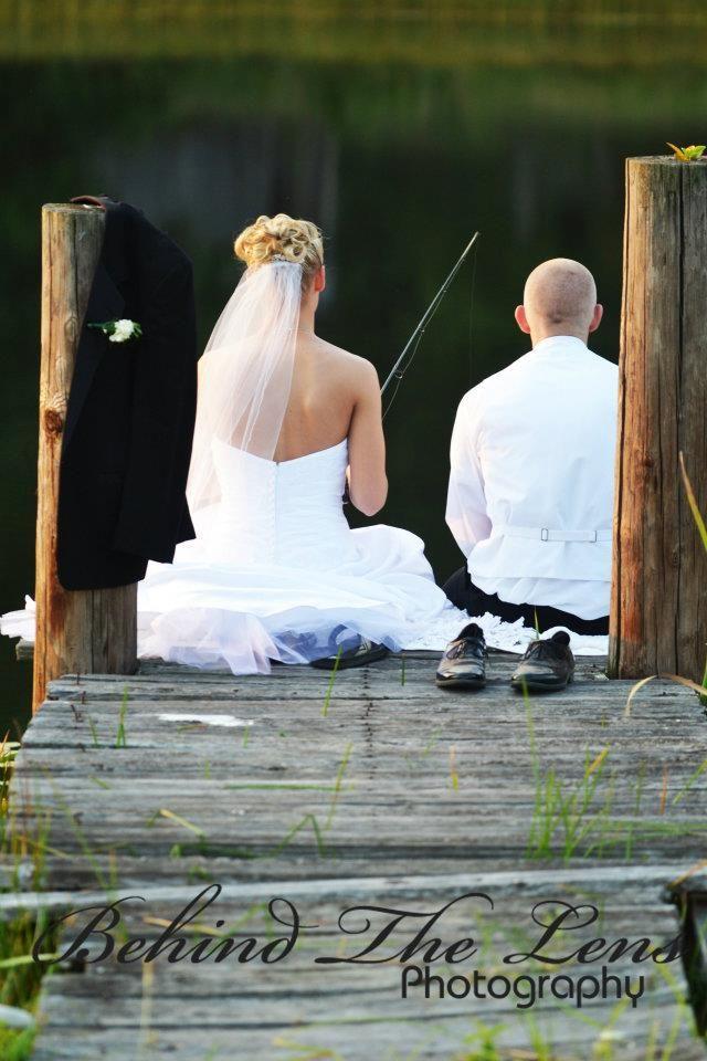 Wedding fishing