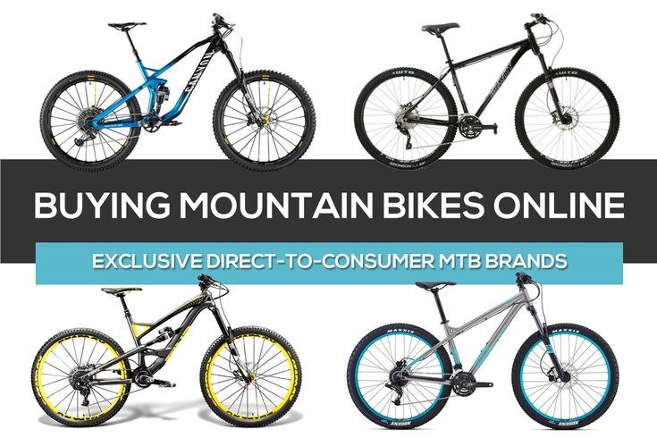There's no shortage of mountain bikes available for purchase online these days. While some of the brands you'll find in your local bike shop are also avail