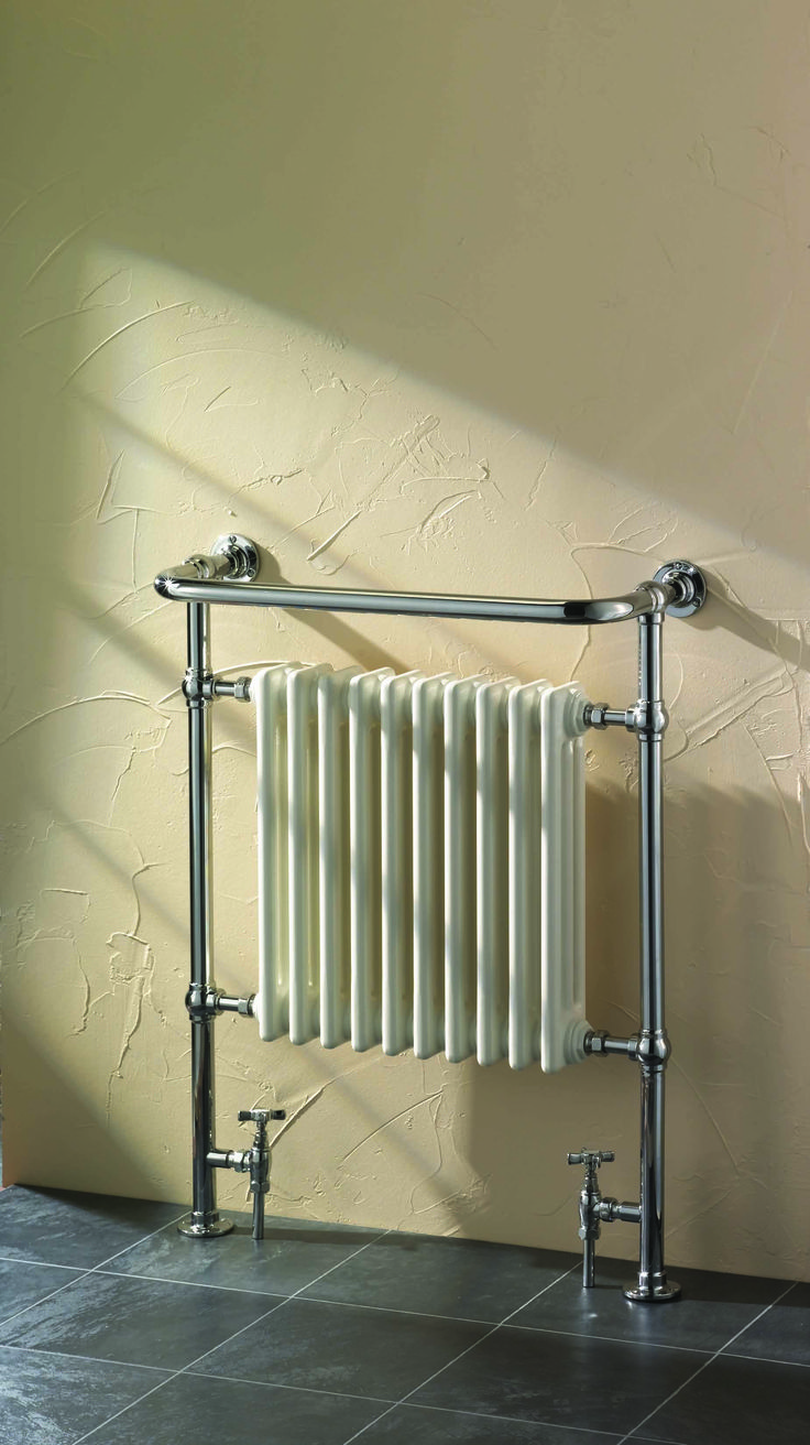 Traditional towel warmers, with a little something extra.