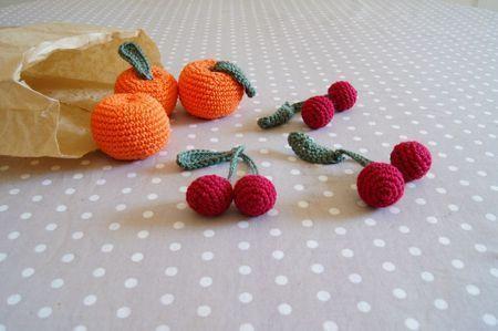 cerises & abricots #howto #tuto