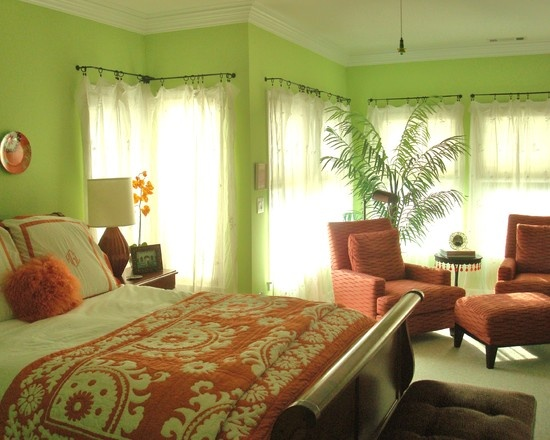 1000 images about lime green walls on pinterest green wall color eclectic living room and Master bedroom with green walls