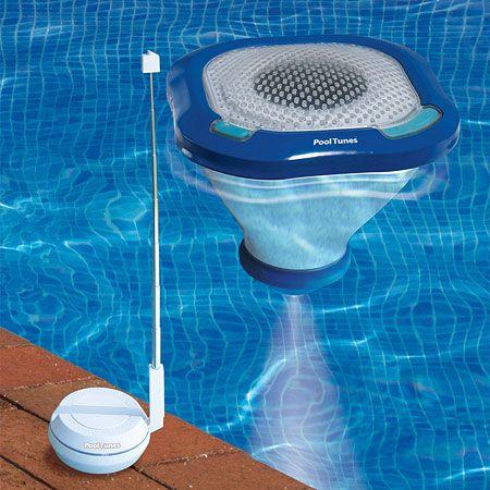 84 best homemade splash pad images on pinterest backyard - Waterproof speakers for swimming pools ...