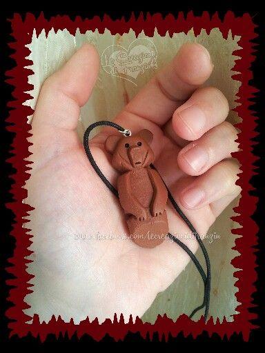 #koda #fratello #orso #totem #amore #creazioni #fimo #franzin