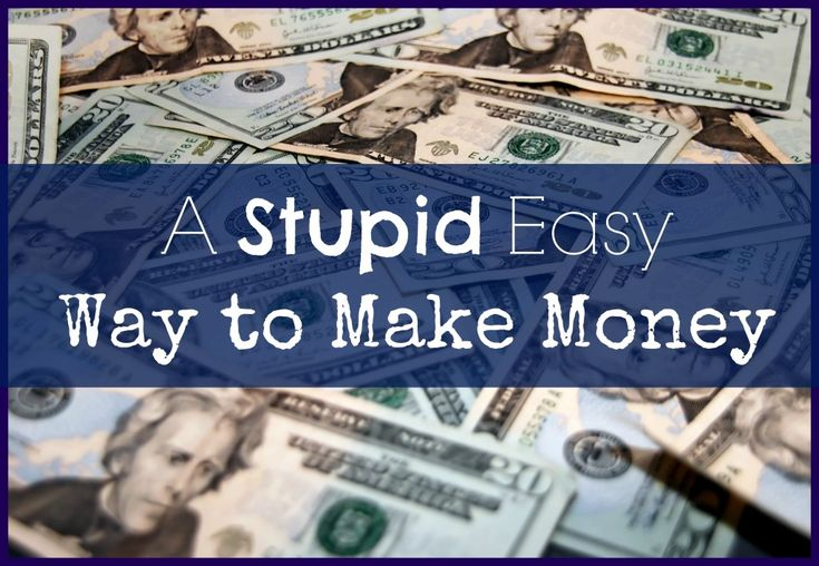I found a stupid easy way to make money online - really! This site accepts…