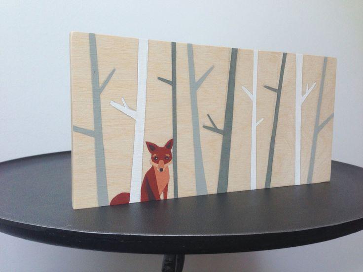 Fox Decor  kwekerij van de vrienden van de bos  Fox Wall Art