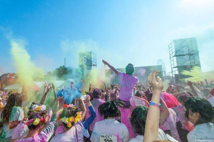 Color Me Rad Fukuoka 2014 Run & Color & EDM Festival & Cosplay