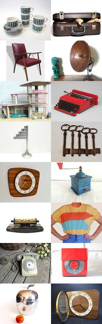 Back To The VINTAGE.../ Retour vers le VINTAGE by Alia on Etsy--Pinned with TreasuryPin.com #etsy #etsyfr #frenchvintage #french #vintage #vintagefinds #vintagefr #retro #frenchretro #colorful #etsyfinds #giftidea #giftideas