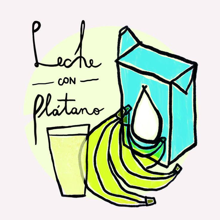 Leche con plátano Francisca Balbontin Puig Diciembre 2015