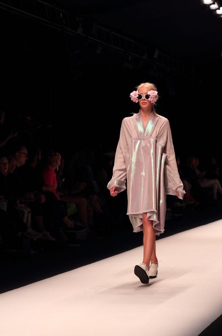 Stockholm Fashion Week Spring/Summer 2015. Designer: Gabriela Vallejos Castro. Photo: Sampo Axelsson