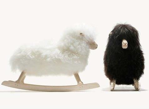 If sheep come a-rocking. | Povl Kjer
