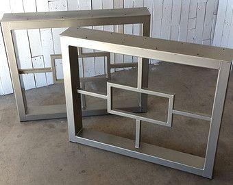 Set of Metal Table Legs                                                       …