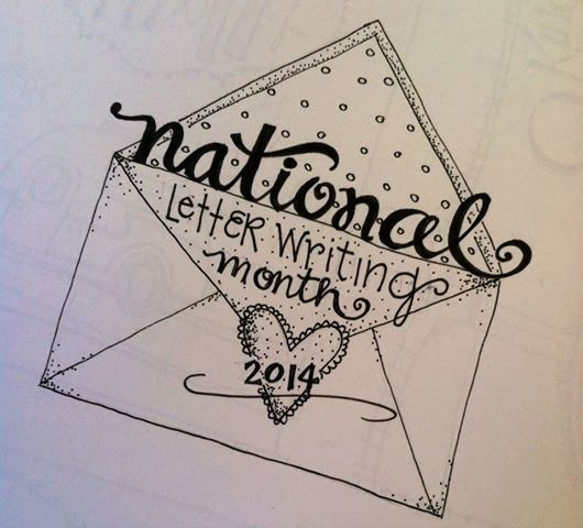 national letter writing month national letter writing month logo creator of 23752