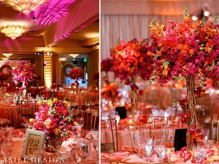 Best ideas about indian wedding centerpieces on