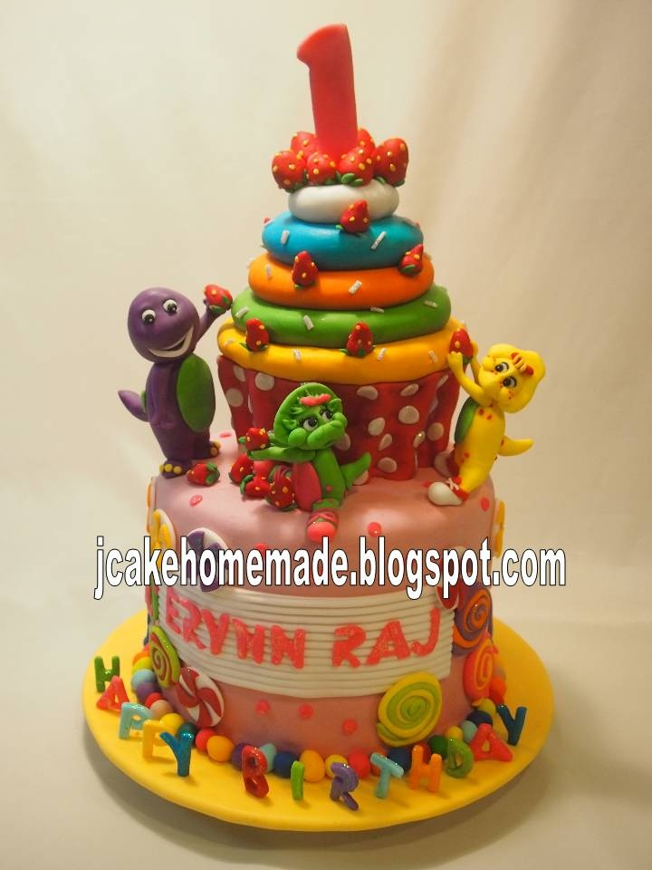 Barney Birthday Cakes Pinterest