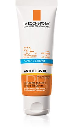 Anthelios   XL SPF 50+       Crema BB   con color       CONFORT packshot from Anthelios, by La Roche-Posay