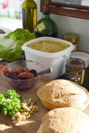 Preparing lunch sandwiches - Æblegaarden B&B, Langeland, Denmark, www.aeblegaarden.dk Photo by Sannie Terese Burén