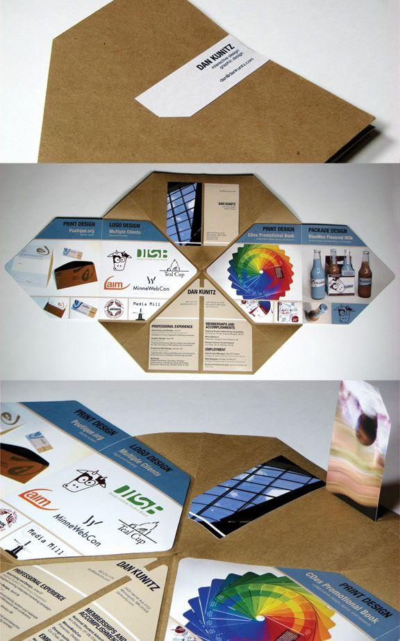 mini portfolio idea