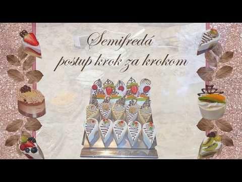 Semifredá - videopostup , Videopostupy pre začiatočníkov, fotopostupy | Tortyodmamy.sk